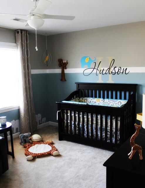 Window Treatments Baby Boy Nursery