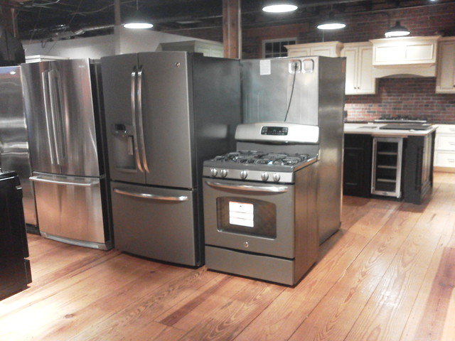 GE Slate  Contemporary  Gas Ranges And Electric Ranges  boston  by CK Appliance Supply Inc
