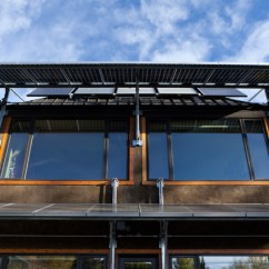 Teal Accents Living Room Beautiful And Kitchen Solar Panel Awnings - Contemporary Exterior Edmonton ...