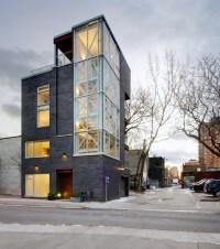 My Houzz: Urban Tower - Industrial - Exterior - toronto ...