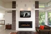 who is mfg of horizontal fireplace