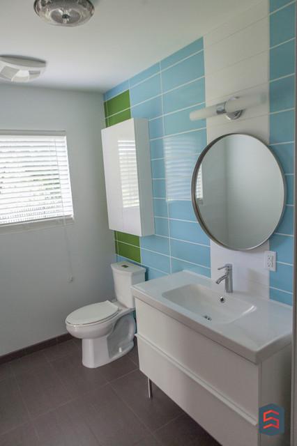 MidCentury Modern Remodel  Midcentury  Bathroom