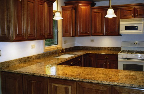 kitchen tile countertops 60 inch island giallo veneziano granite | countertops, slabs,