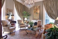 Grand Living Room - Traditional - Living Room - new ...