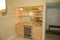 Custom Wall Units - Contemporary - Dining Room - other ...