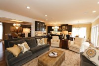 Grey and Gold Living Room Remodel and New Furnishings ...