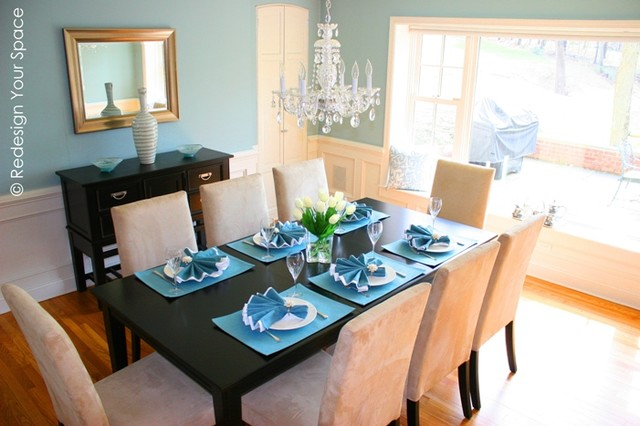Redesign Your Space Contemporary-dining-room