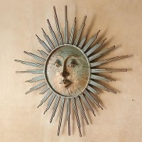 Radiant Sun Outdoor Wall Art