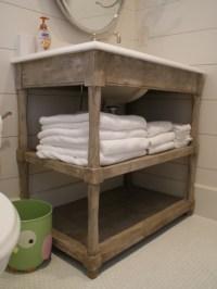 Open vanity - Traditional - Bathroom Vanities And Sink ...