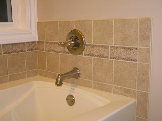 Beige Bathroom Tile