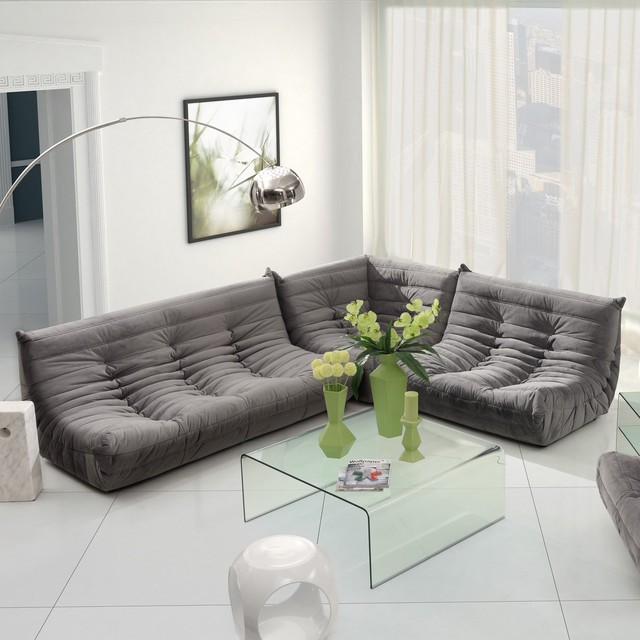 Zuo Modern Circus Sectional Sofa Set Modern Sectional Sofas By Hayneedle