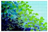 Area Rug by Julia Di Sano - Creation in Color Blue Green ...