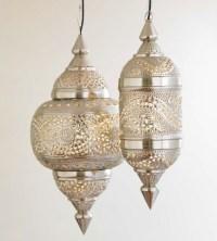 VivaTerra Moroccan Hanging Lamp - Mediterranean - Pendant ...