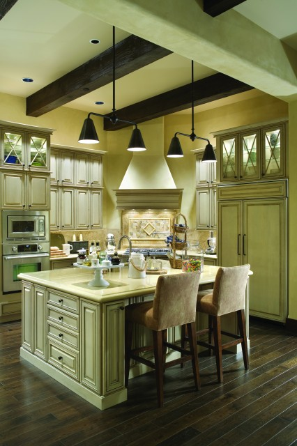 French Country Elegance Traditional Kitchen Portland
