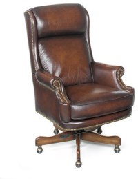 Leather Office Desk Chair EC293 by Hooker Furniture ...