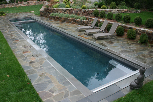 Lap Pool eclectic pool