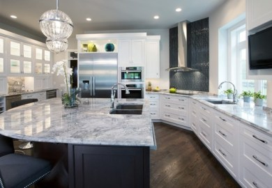 Black And White Tile Home Design Photos Houzz
