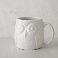 Figurative Owl Mug - Eclectic - Dinnerware - by West Elm