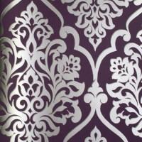 Purple/Silver wallpaper