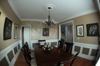 Stunning accent wall - Traditional - Dining Room - other ...