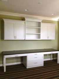 Office built ins - Contemporary - Home Office - san diego ...