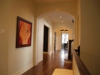Arched Paneled Passage Way / Custom Built in Cabinetry ...