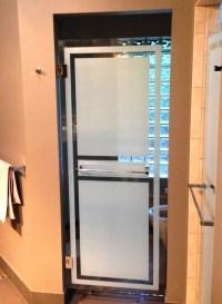 Decorative Shower Door Film