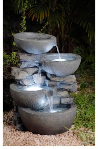 Modern Backyard Fountains