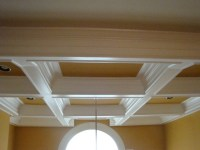 Two Story Coffered Ceiling Project - Craftsman - richmond ...