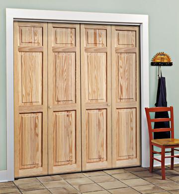 rustic bedroom closet doors Wood Doors - Rustic - Interior Doors - sacramento - by HomeStory Easy Door Installation