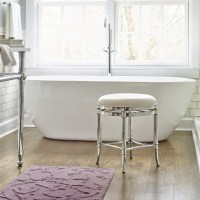 Bailey Vanity Stool - Traditional - Vanity Stools And ...
