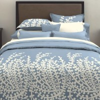 City Scene Branches French Blue Comforter Set