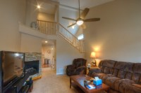 Living Room/Vaulted Ceilings traditional-living-room