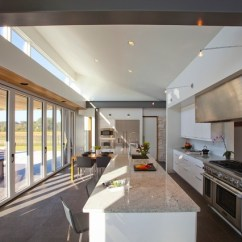 Outdoor Kitchen Stainless Steel Cabinet Doors Kitchens To Go Belfast Residence - Modern Cincinnati By ...