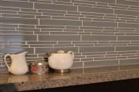 Chimney Smoke Linear Glass Mosaic Tile Kitchen Backsplash ...