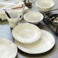 16-Piece Fleur de Lis Set - Traditional - Dinnerware - by ...