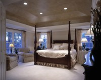Master Bedroom with tray ceiling, Shenandoah model