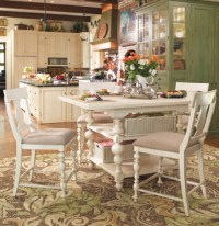 Paula Deen Gathering Height Kitchen Table in Linen ...