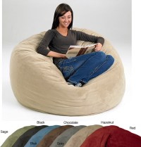 Large Memory Foam Bean Bag - Contemporary - Kids Chairs ...