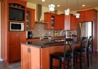 Kitchen Remodels done with Cabinet Refacing - Modern ...