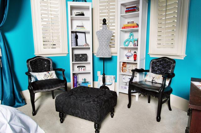 Aspiring fashion designers special draped area  Eclectic  Bedroom  dallas  by Brandi Renee