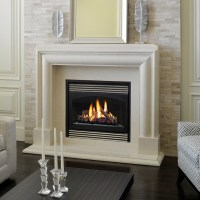 Marble Fireplace Mantels - Avalon - Contemporary ...