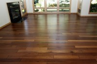 Mahogany - Hand Scraped Hardwood Floor - Contemporary ...