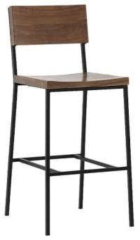 Rustic Bar Stool + Counter Stool - Modern - Bar Stools And ...