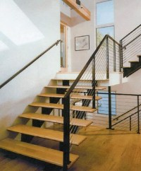 Open Straight Staircase - Modern - Staircase - by Great ...