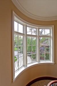 Curved Window Treatment - Windows - cleveland - by Keim ...
