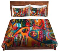 Duvet Cover Twill - Abstract Elephant - Contemporary ...