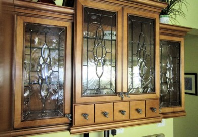 Kitchen Cabinet Glass Inserts Vancouver