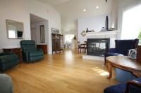Bamboo flooring - Contemporary - Living Room - portland ...