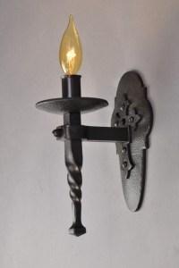Spanish Revival Sconce - 1 bulb - Mediterranean - Wall ...